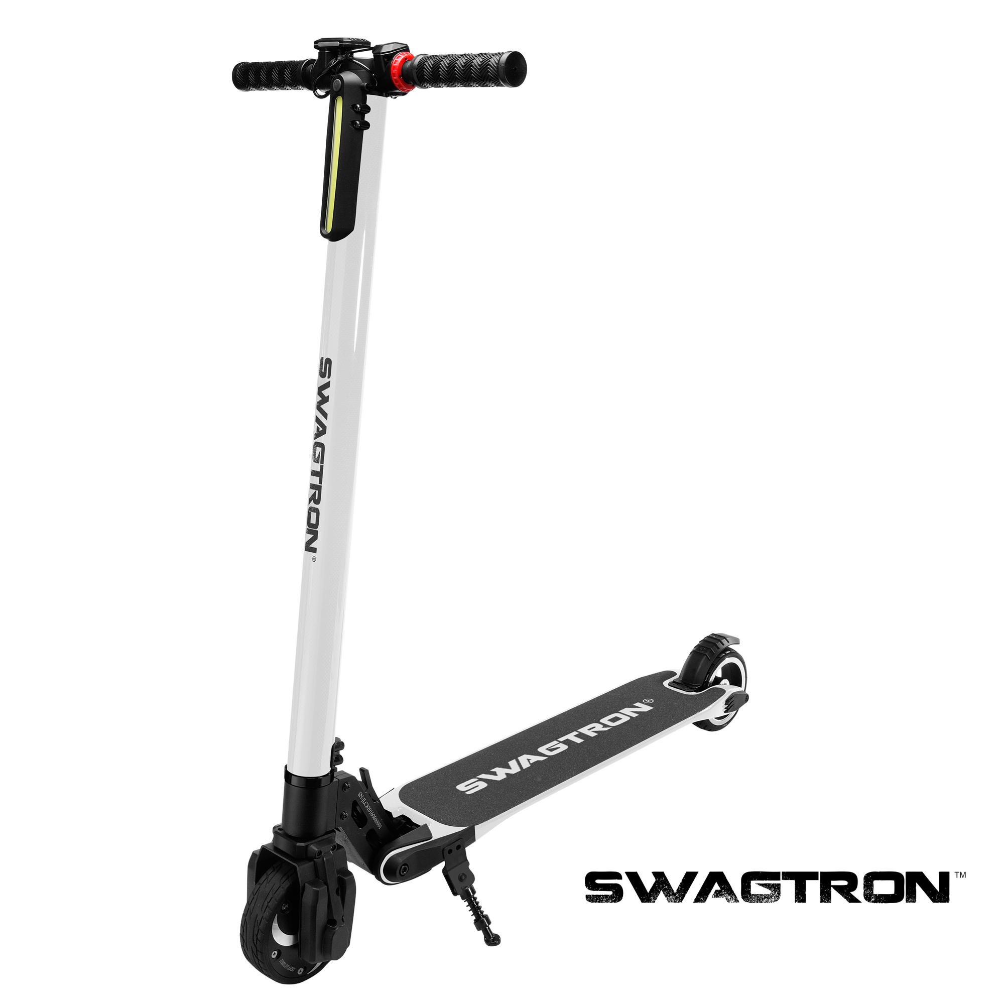 swagger carbon fiber electric scooter fast folding kid. Black Bedroom Furniture Sets. Home Design Ideas