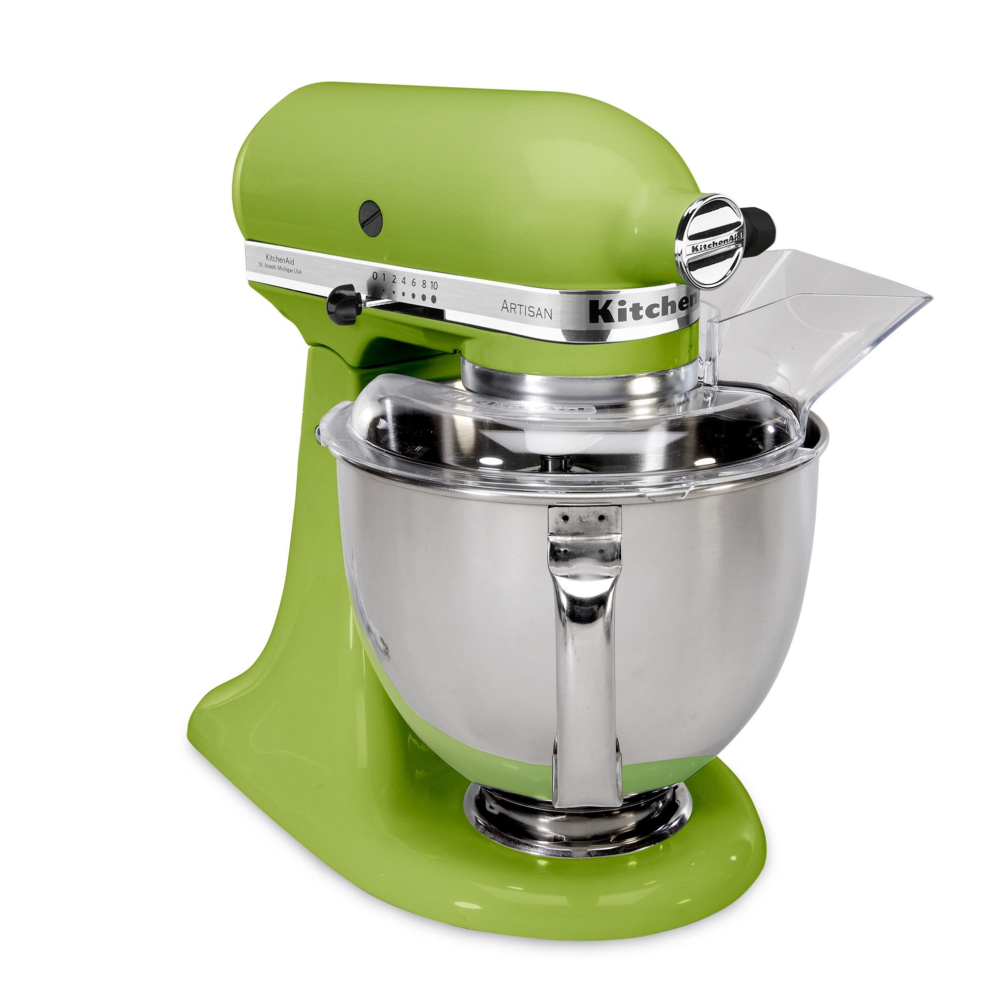 Brand new kitchenaid ksm150ps 5 qt artisan metal stand mixer 325w w pour shield ebay - Kitchenaid artisan qt stand mixer sale ...